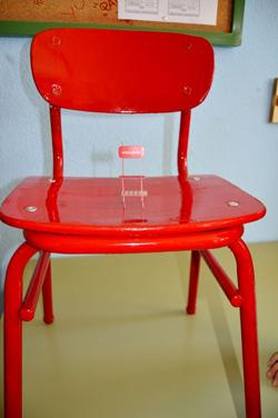 La silla roja en el colegio la paz de albacete entreculturas - La silla de fernando ...