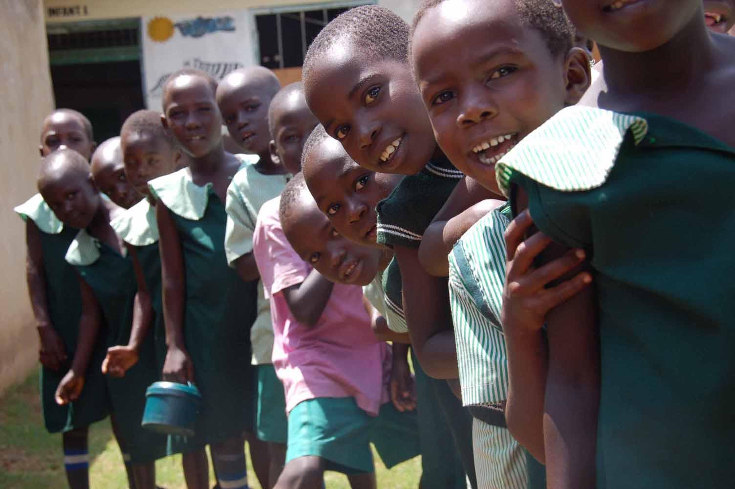 Una escuela en África