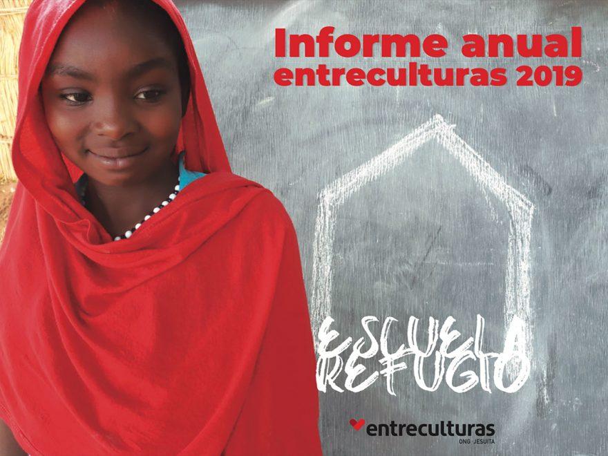 Portada Memoria Anual Entreculturas 2019