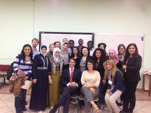Curso del Servicio Jesuita a Refugiados y la universidad de Fordham: Educación en Emergencias