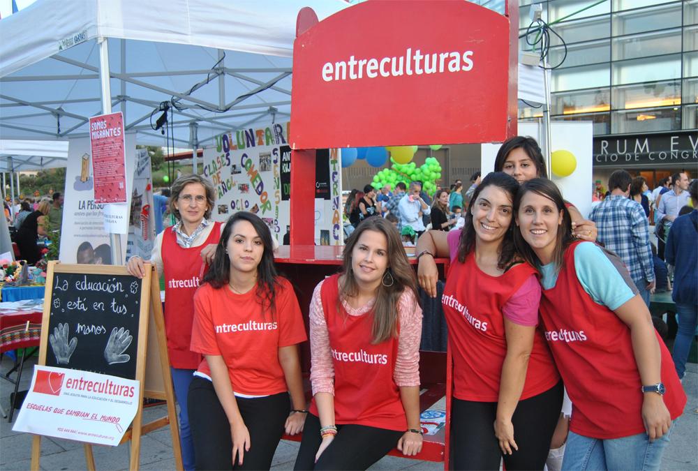 Equipo de la delegación de Burgos en la VI Feria de Participación Ciudadana