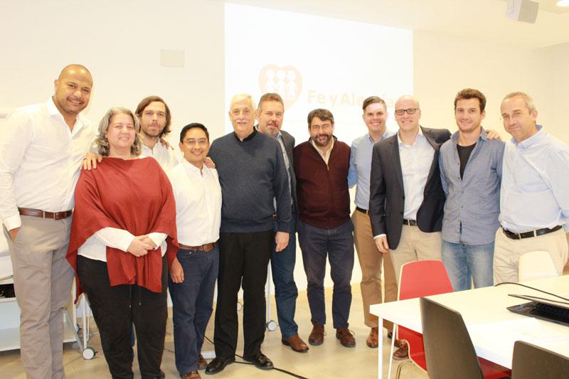 Entreculturas acoge la reunión entre el Padre General Arturo Sosa SJ y el Coordinador de la Federación Internacional Fe y Alegría, Carlos Fritzen SJ
