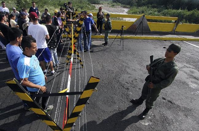 Crisis humanitaria en la frontera colombo venezolana