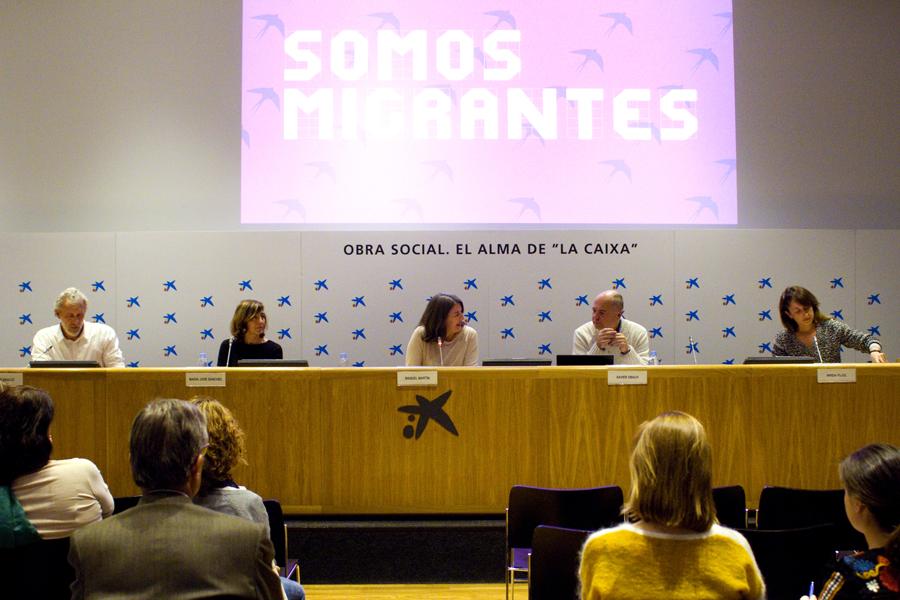 Seminario SOMOS MIGRANTES en CaixaForum Madrid