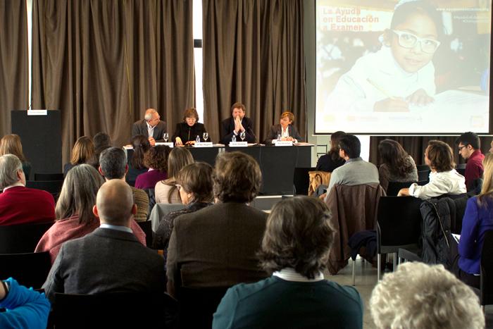 """Presentación del informe """"La AOD en Educación a Examen"""" en el Círculo de Bellas Artes de Madrid"""