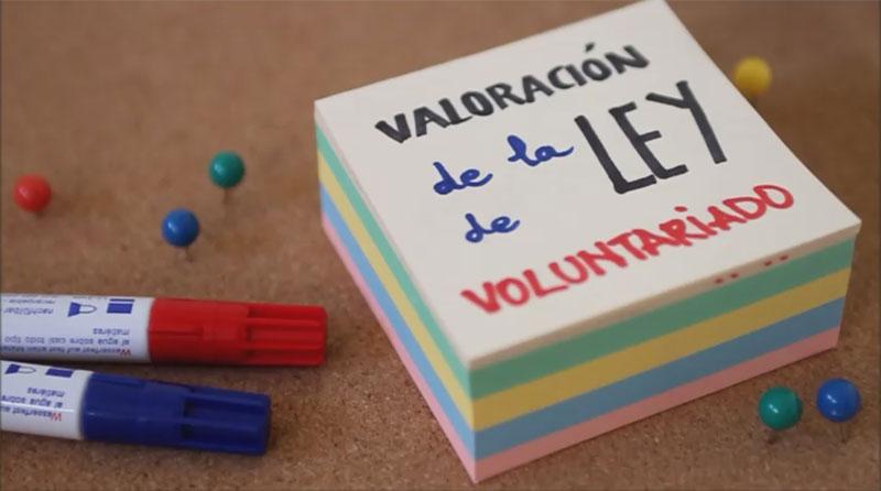 Valoración nueva Ley de Voluntariado