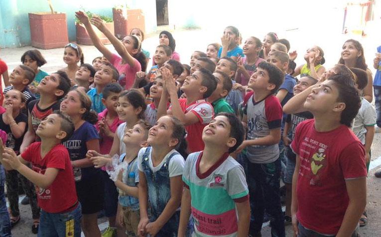 Menores refugiados sirios en Líbano