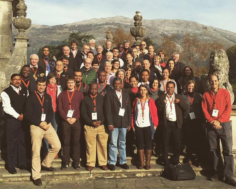 """Foto de grupo en el taller """"Networking for Justice"""" de Loyola"""