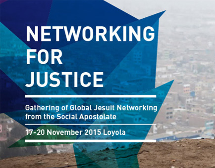 "Cartel de convocatoria para el encuentro ""Networking for justice"""