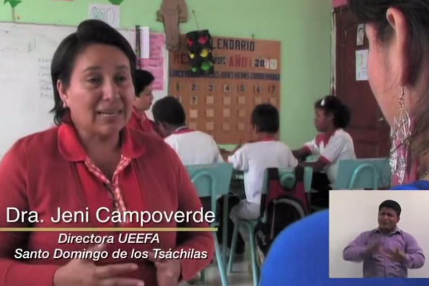 Proyecto de inclusión educativa en Ecuador