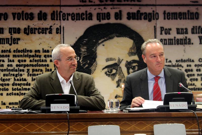 Ramón Almansa, director ejecutivo de Entreculturas, en el Senado