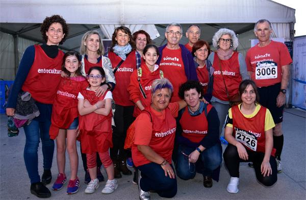 Equipo de la delegación de Valladolid en la Carrera Ríos de Luz 2017