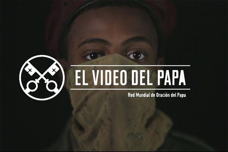 Entreculturas y el Servicio Jesuita a Refugiados se suman a la Red Mundial de Oración del Papa por la causa de los menores soldado