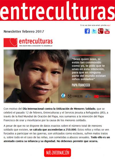 Portadilla newsletter febrero 2017