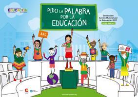 La Campaña Mundial por la Educación se moviliza para exigir a los Gobiernos que rindan cuentas, sean transparentes y creen espacios de participación ciudadana en el cumplimiento del derecho a la educación