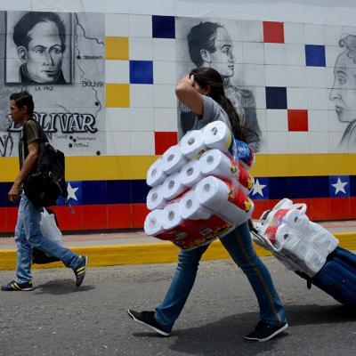 Desabastecimiento de productos básicos en Venezuela